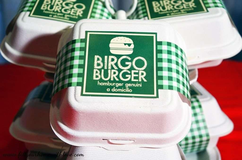 Birgo burger serviti nei bellissimi Longplate.