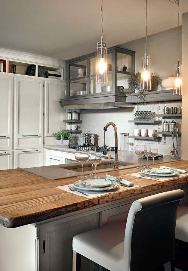 Le cucine Industrial di L\'ottocento cucine