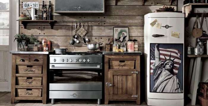 Le cucine industriali di Dialma Brown
