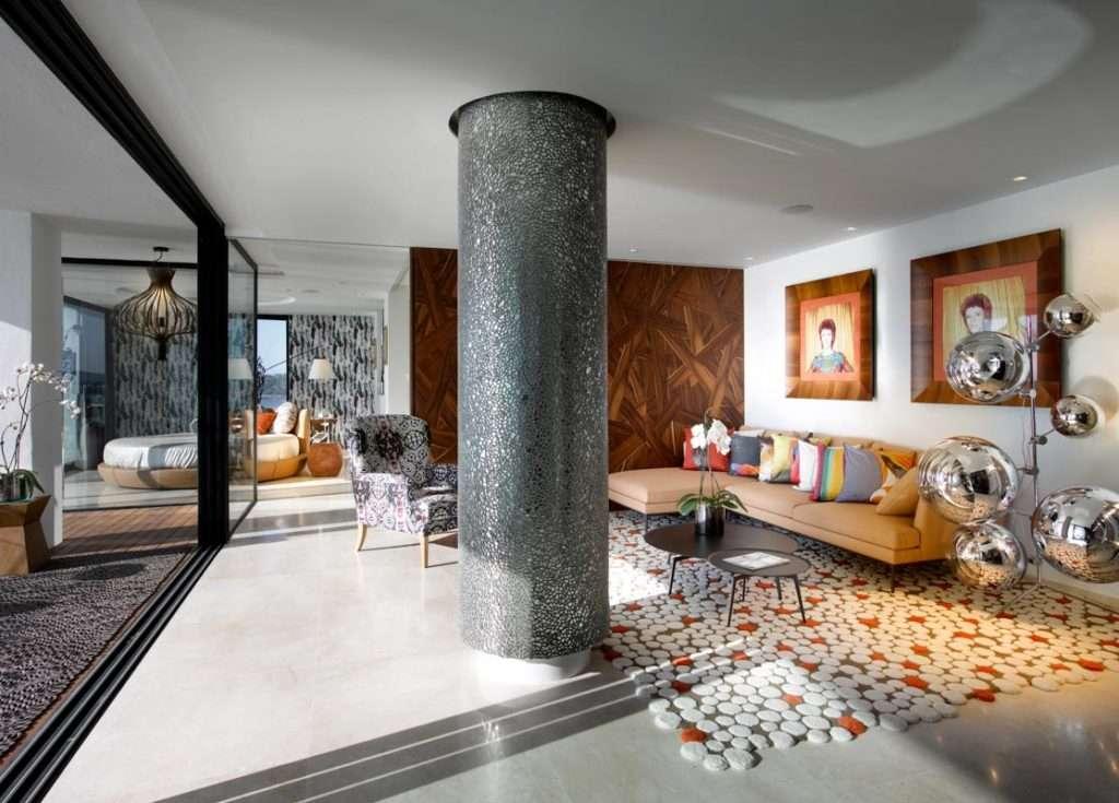 Divano portofino, alivar, divano componibile, hard rock hotel ibiza