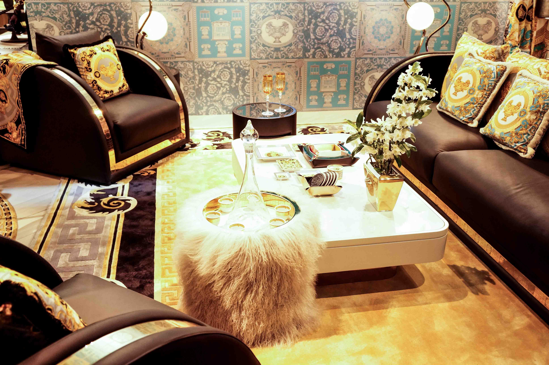 versace home livingroom