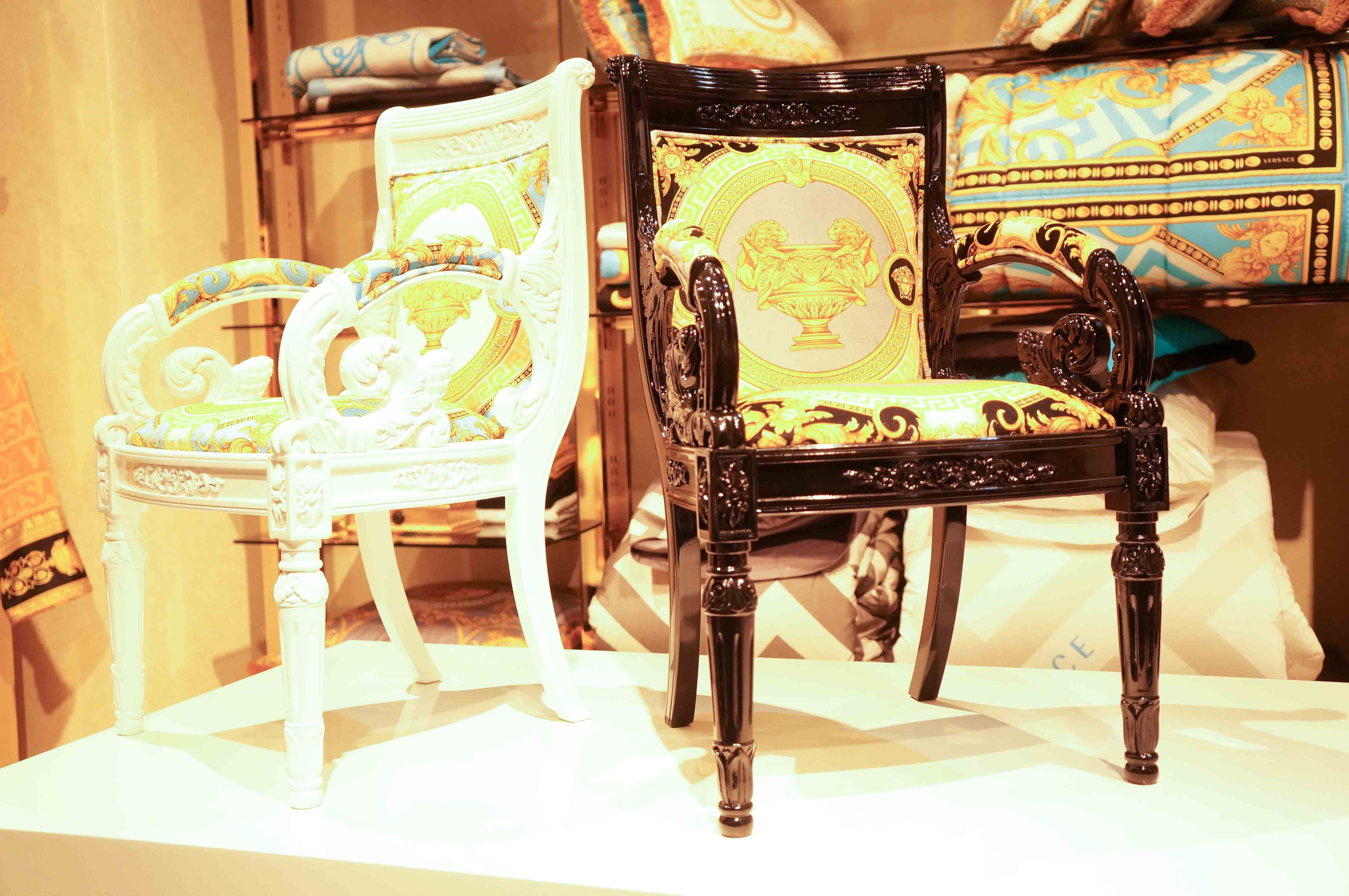 versace home chairs