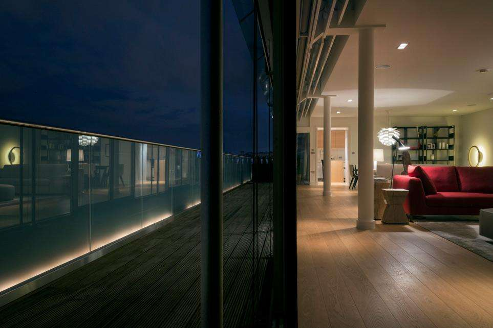 An Attic in London by Parisotto e Formenton architects.