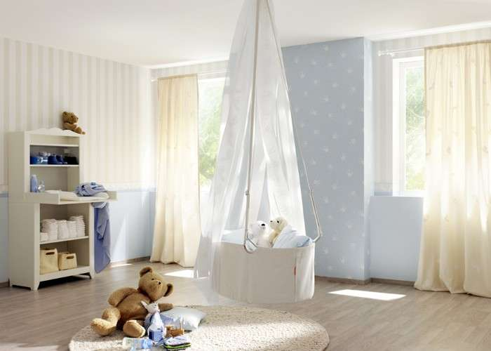 Wallpaper: datails for nursery and kids rooms!