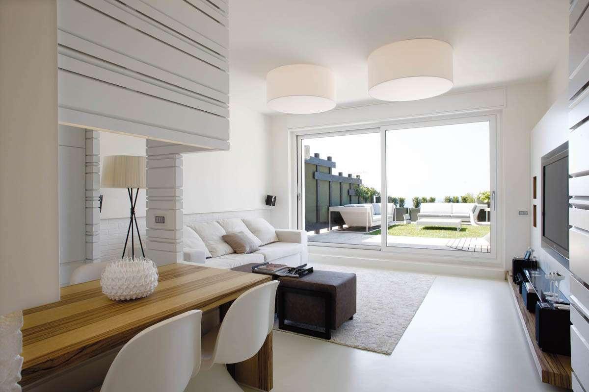 Numerose idee per arredare il soggiorno su for Idee per arredare cucina soggiorno