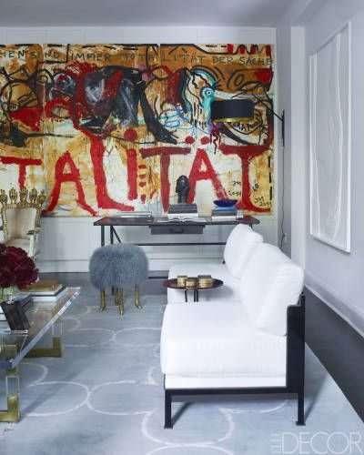 idee salotto, divano bianco, su pinterest