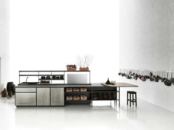 cucina centrale salinas firmata patricia urquiola per boffi cucina