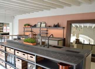 Boffi Cucine and Salinas, the first Kitchen signed by Patricia Urquiola