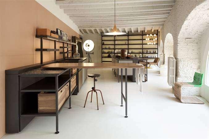 patricia urquiola salinas kitchen for Boffi cucine