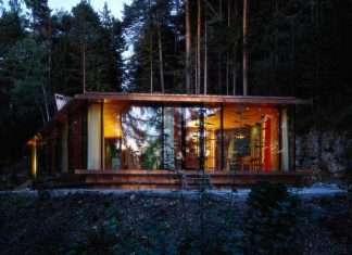 Rafael Jeblonke Alpi tirolesi, casa design, house t