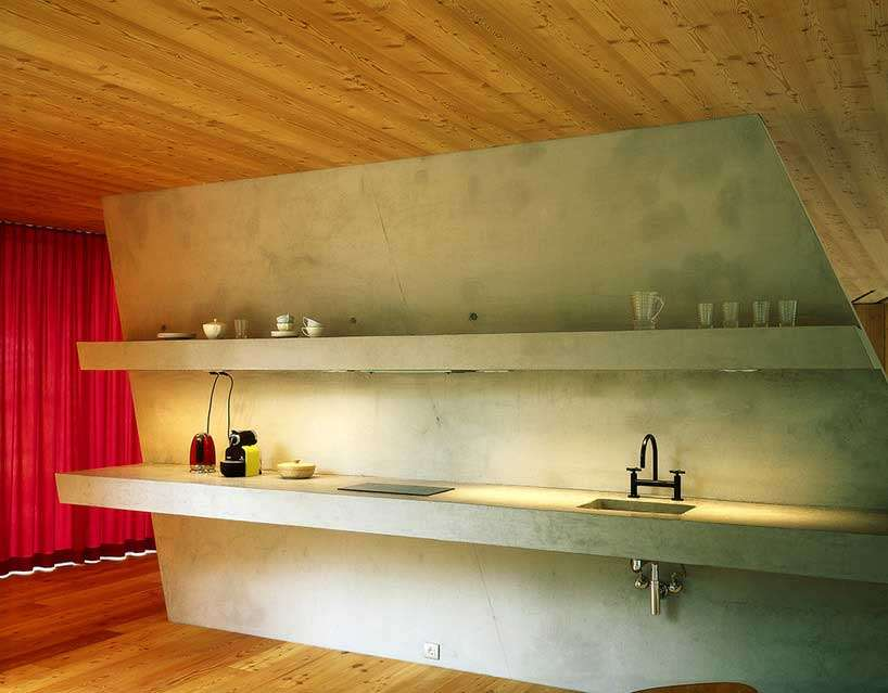 Rafael Jablonka Alpi tirolesi, casa design, house t