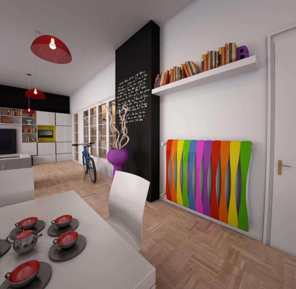 termo-arredo, project the sign, design, termosifone multicolor