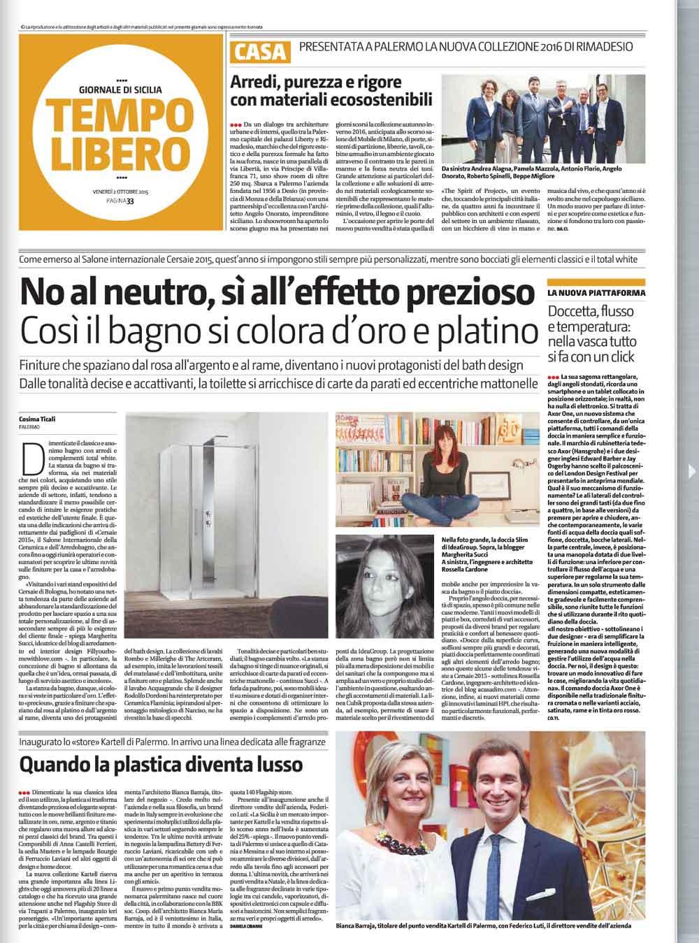 giornale di sicilia intervista margherita succi