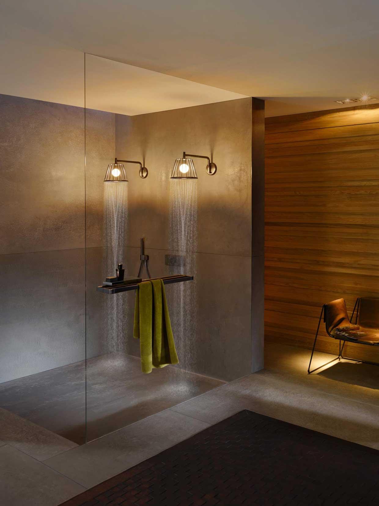 Nendo - lo studio di architettura progetta Axor Lamp Shower