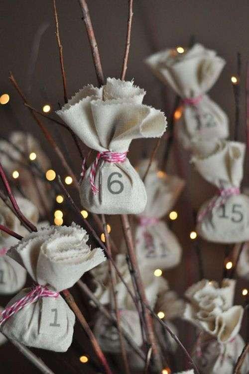 idee per creare un calendario dell'avvento per Natale 2015