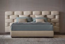 bed forniture flou at milano design week
