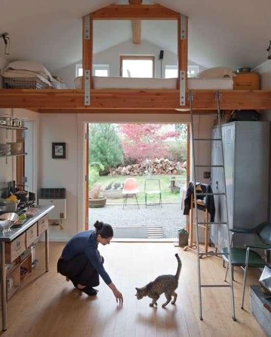 come trasformare un garage in una casa di design