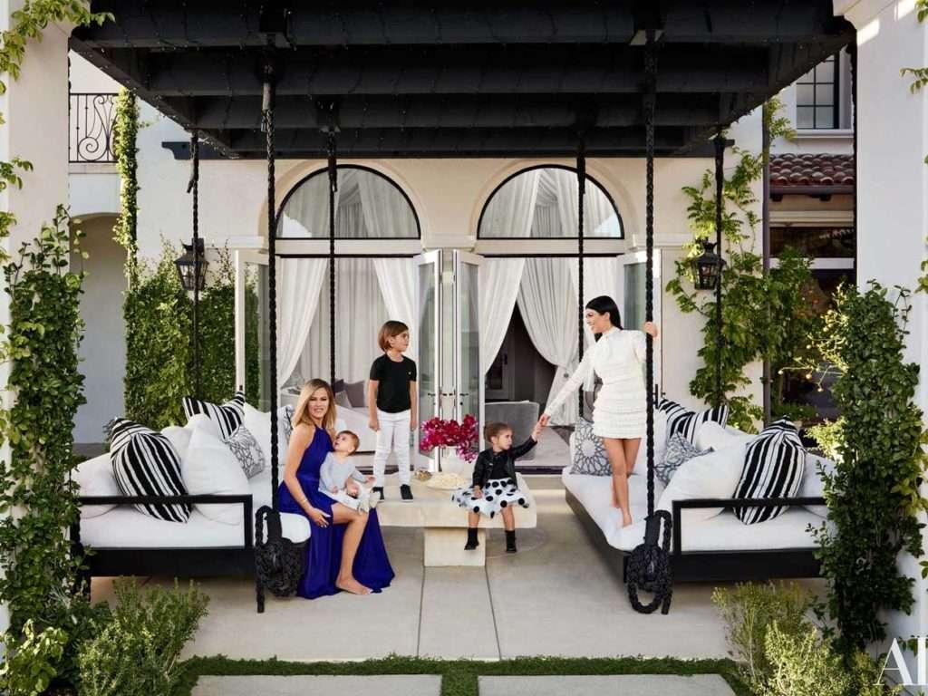 Khloé Kardashian's and her sister Kourtney's dream houses.