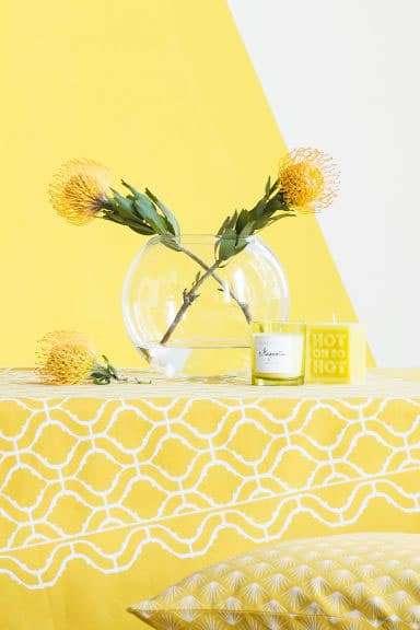 H&M Casa dice giallo e colori in Cucina