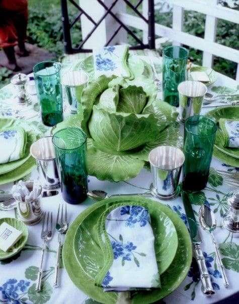 composizioni di verdure