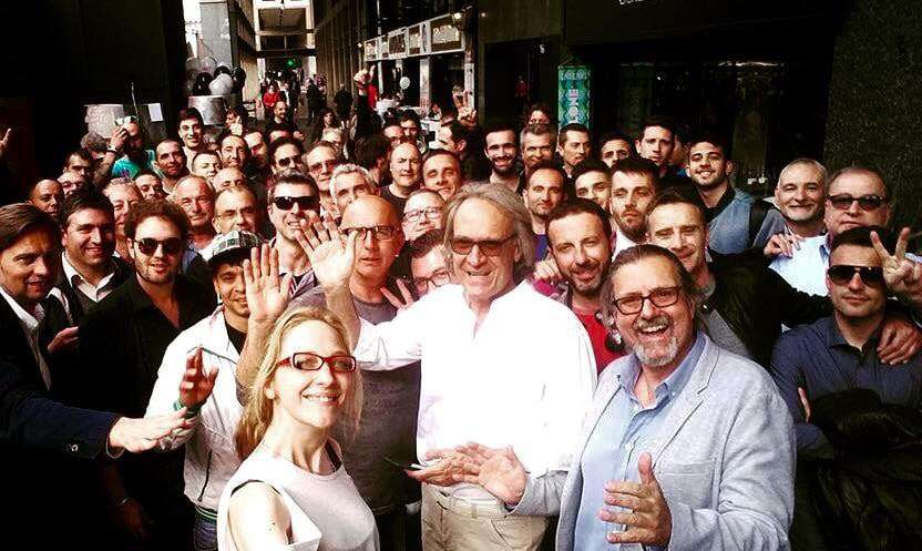 Se per molti il clima di festa è terminato all'incirca una settimana fa con la fine del Salone del Mobile, lo stesso non si può dire per lo Showroom Giorgio Graesan&friends!