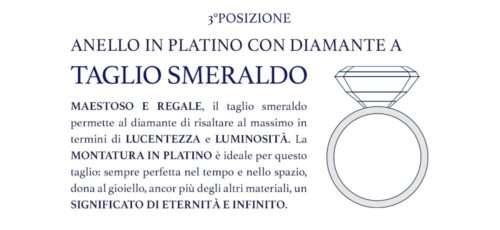 anello di fidanzamento con diamante