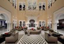 The Hotel Marriott Constantine ***** in Algeria and B Light.