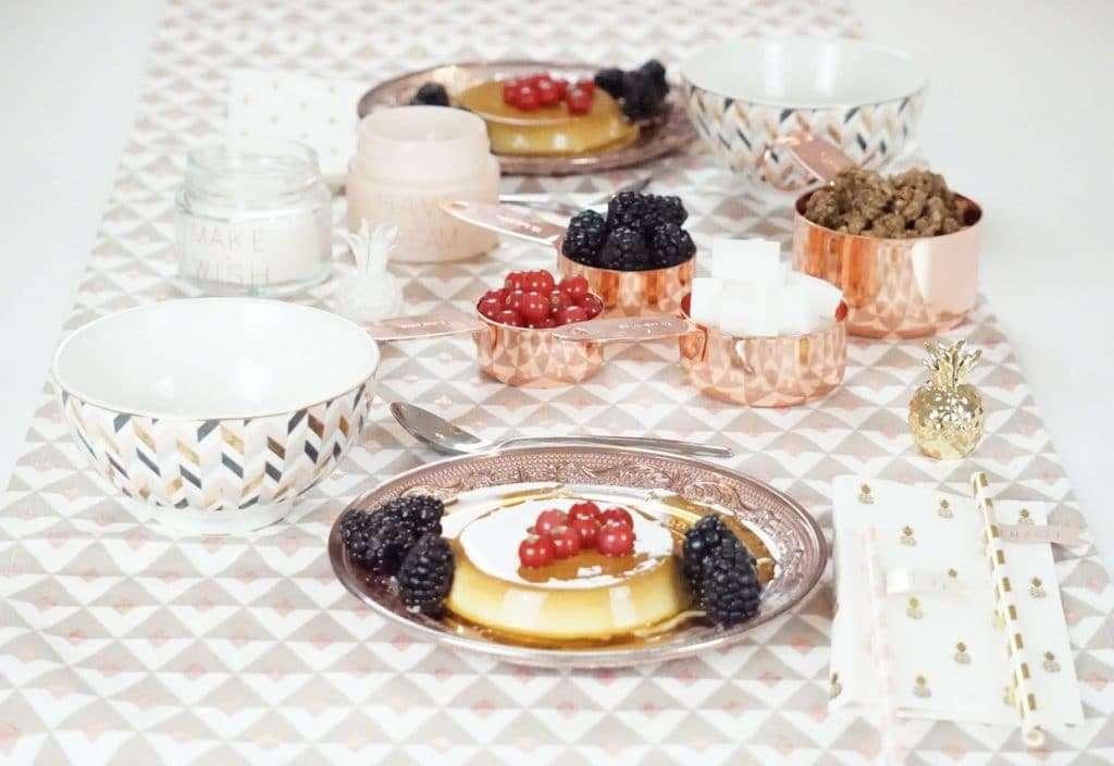 apparecchiare una tavola elegante per colazione Maisons du monde