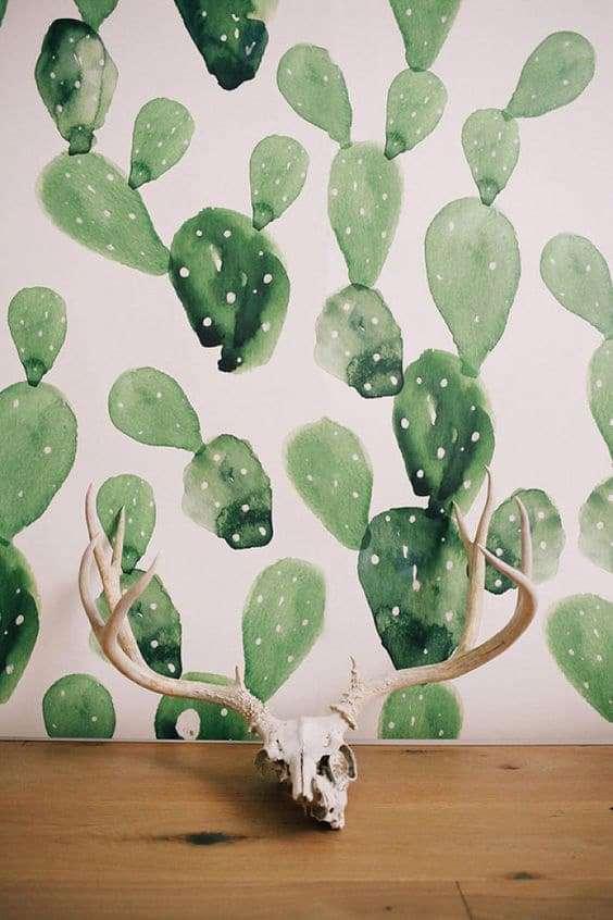 Carta da parati con piante - La moda 2017