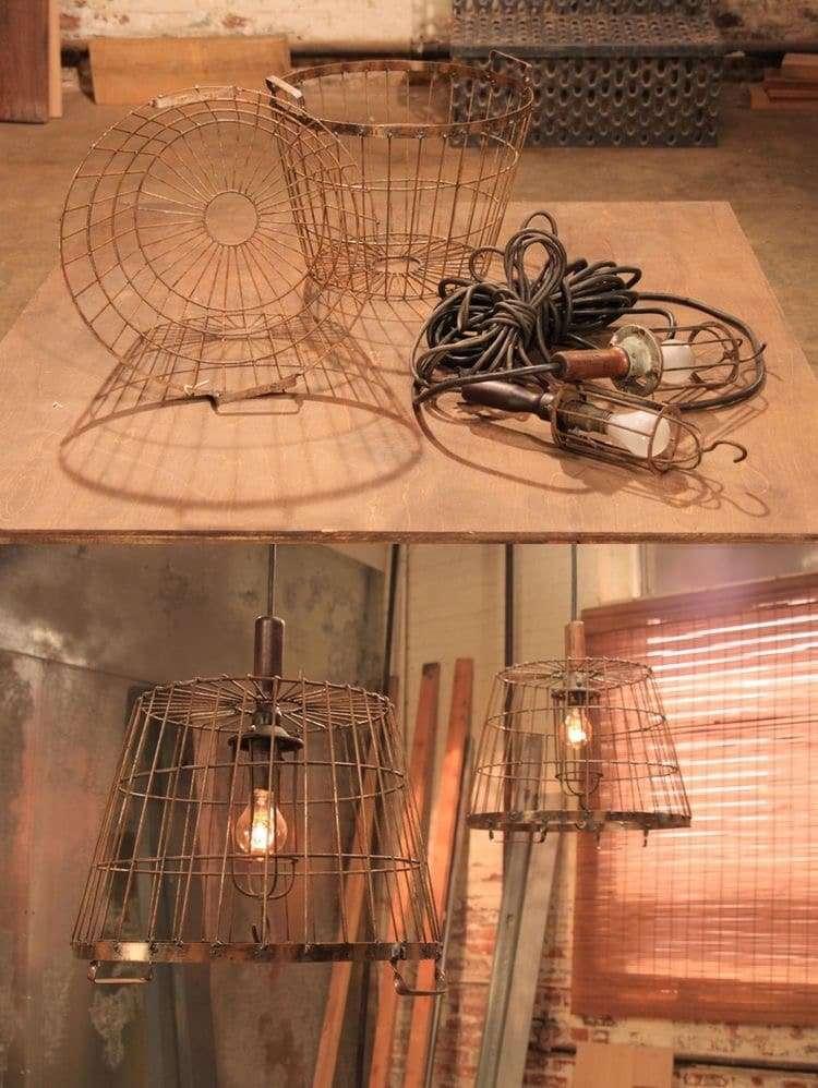 Lampadari in stile industriale ecco come realizzarli