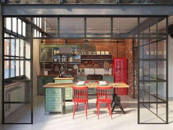 Accessori in stile industriale per la cucina ...
