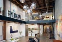 To furnish a loft with an intermediate floor: ideas and advices.