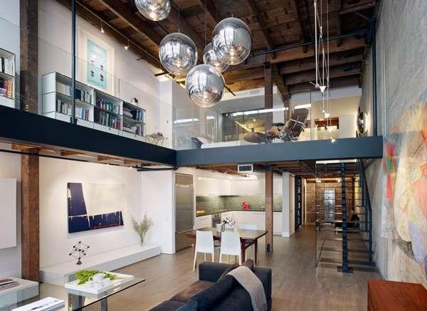 arredare loft con soppalco ottimizzazione ambienti