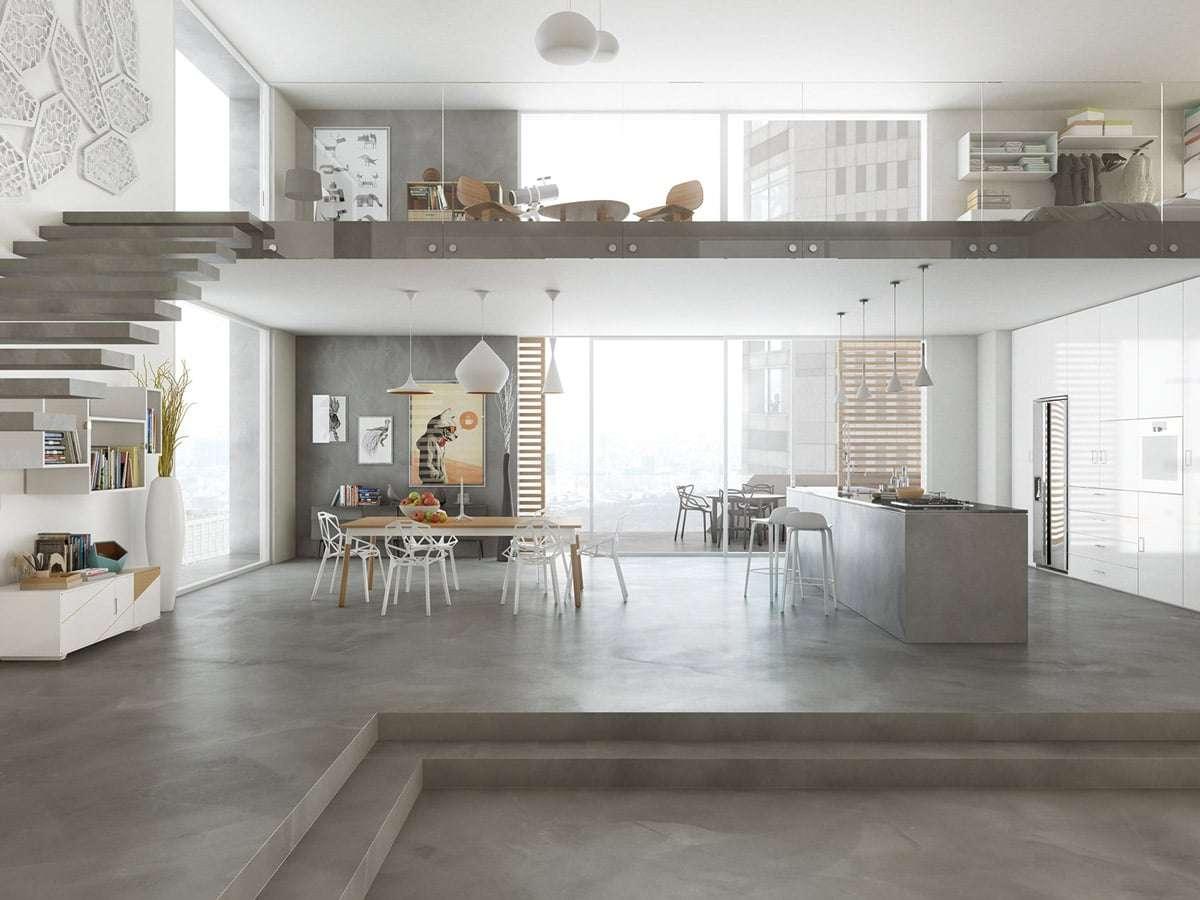rivestimenti ecologici cemento resina