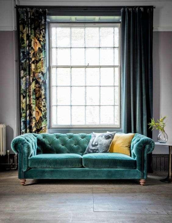 divano in velluto trend 2017 blog arredamento