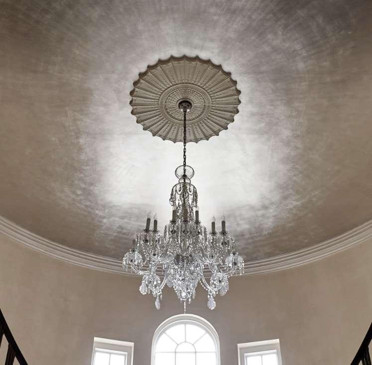 pareti materiche argento