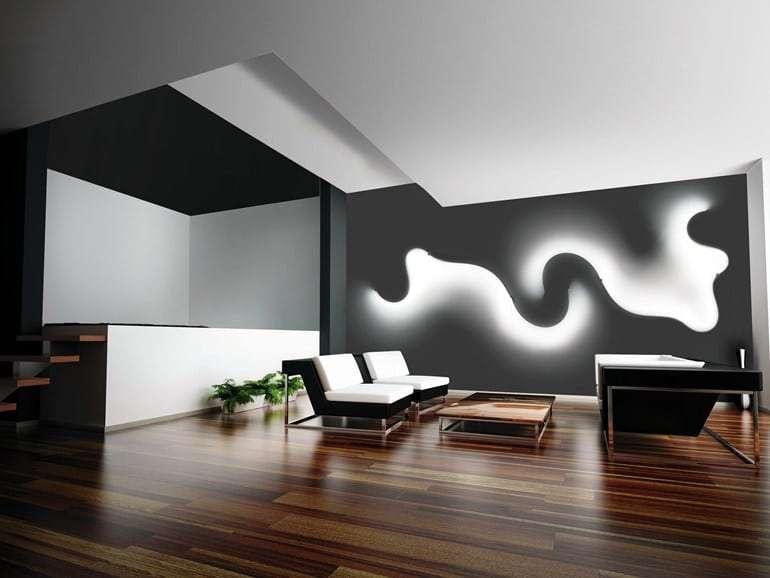 tecnologia LED da parete