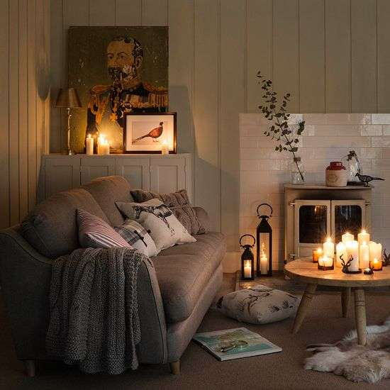 casa hygge candele