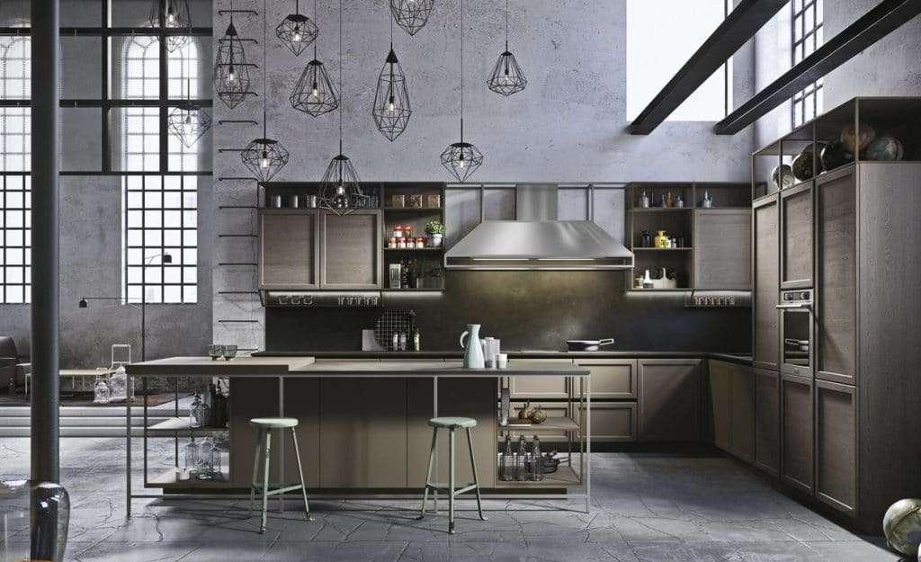 cucine snaidero in stile classico contemporaneo