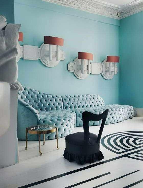 salotto azzurro