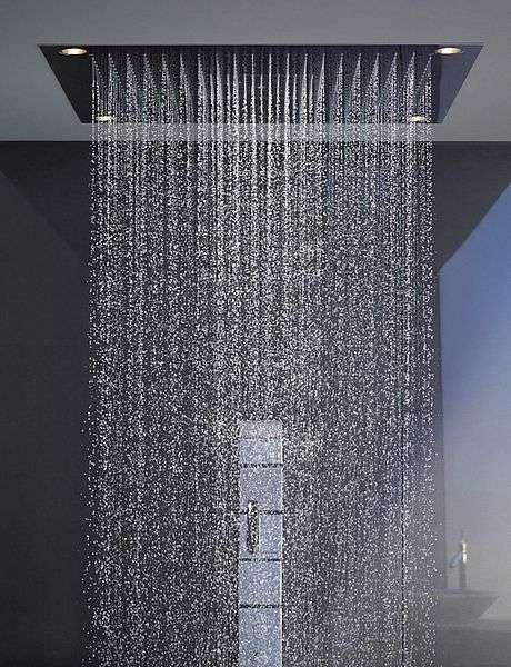 soffione doccia da incasso