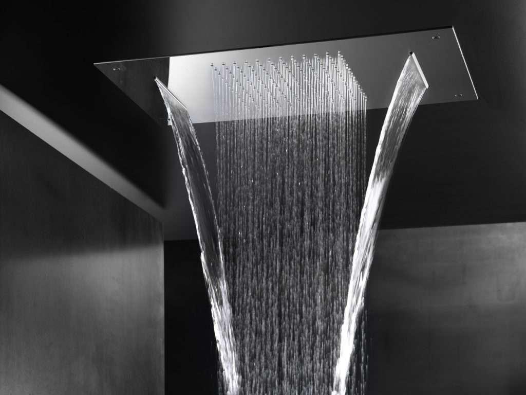 soffioni doccia con cascate cervicali