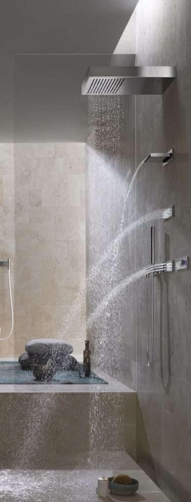soffioni doccia e getti multipli