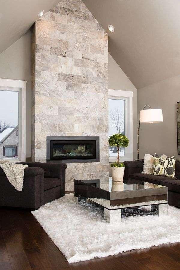 Pareti di pietra per interni di design | Blog Arredamento ...