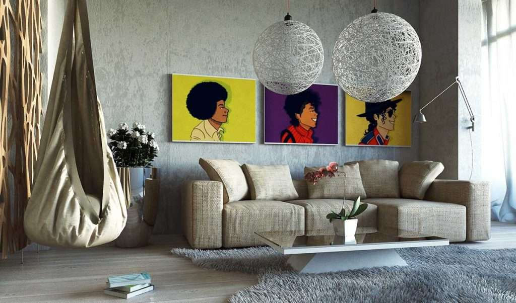 Quadri moderni per decorare casa