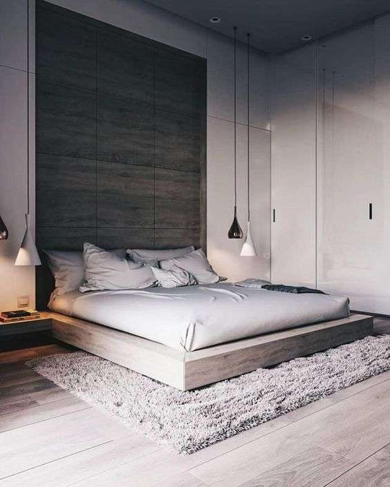 camera da letto color tortora