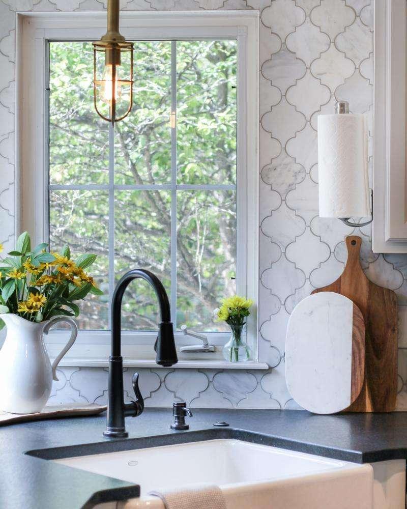 cucine provenzali e finestre