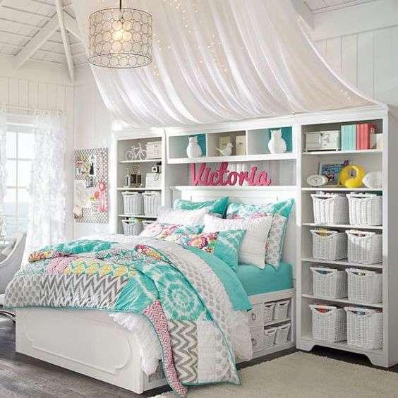 idee per camere da letto piccole con letto a ponte