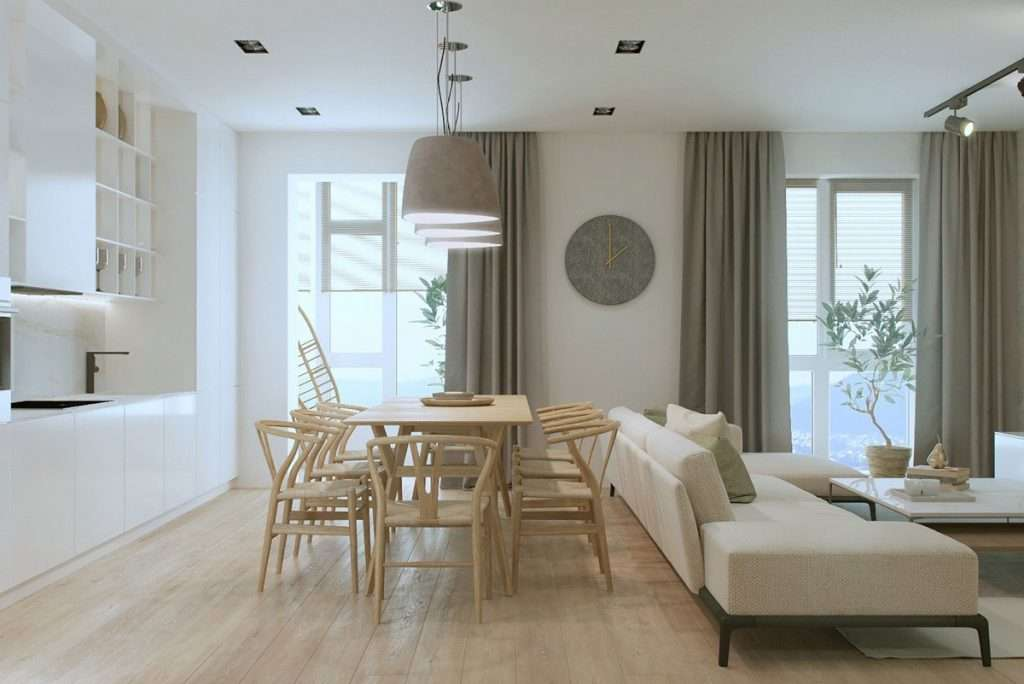 Open space come dividere zona living e cucina for Arredare un open space
