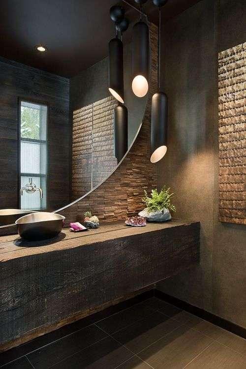 lampadari bagno forma insolita